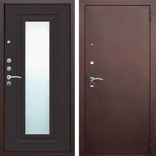 входная дверь металлическая с зеркалом дешево
